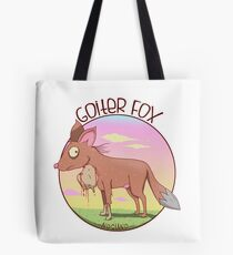 Goiter Fox Tote Bag