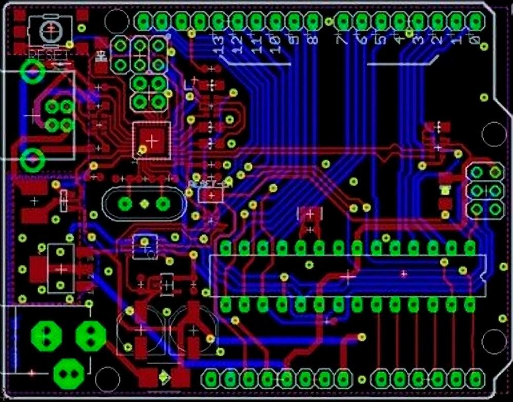 Arduino PCB  by ross-Gardiner