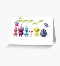 pikmin plain Greeting Card