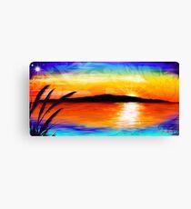 Kapiti Island Sunset Canvas Print