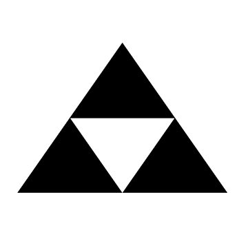 triforce black by gibbiceps