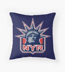 NEW YORK RANGERS HOCKEY Throw Pillow