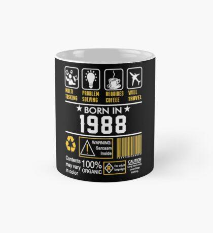 Birthday Gift Ideas - Born In 1988 Mug