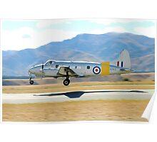 De Havilland  DH-104  DEVON Poster