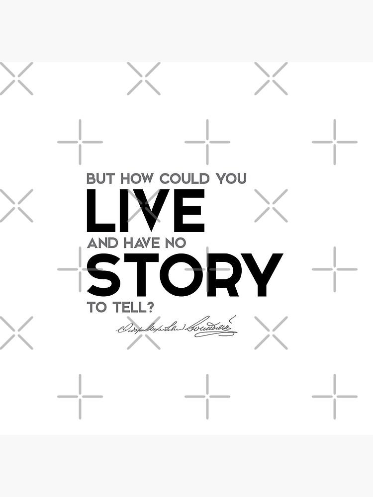 story to tell - fyodor dostoevsky by razvandrc