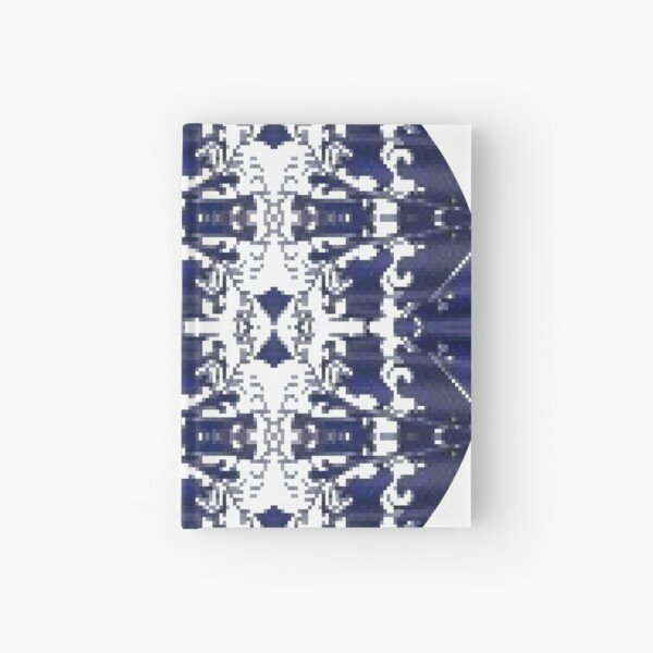 Pattern, design, tracery, weave, drawing, figure, picture, illustration Hardcover Journal