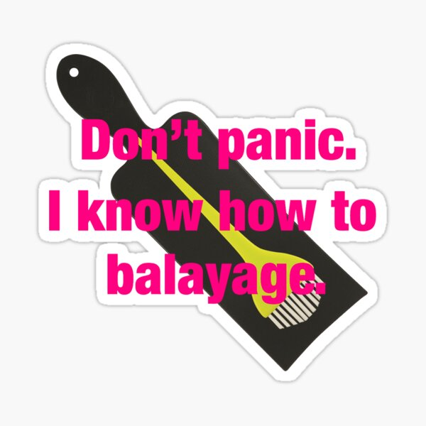 Balayage, much? Sticker