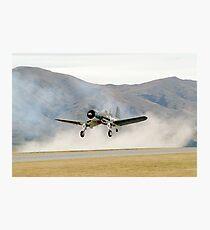 F4U  CORSAIR Photographic Print