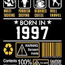 Birthday Gift Ideas - Born In 1997 by wantneedlove
