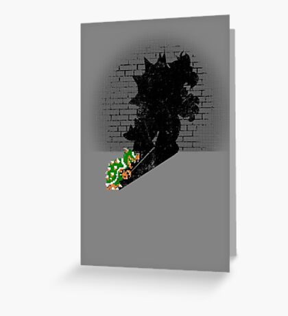 Becoming a Legend - Bowser Greeting Card