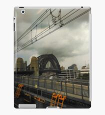 Music notes and yellow ladders iPad Case/Skin