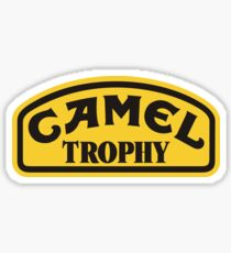 CAMEL TROPHY ENDURANCE Sticker