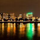 Portland, OR Skyline at night by Adam Nixon