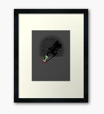 Becoming a Legend - Yoshi Framed Print