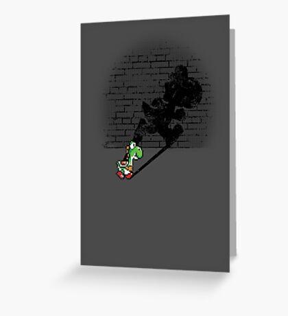 Becoming a Legend - Yoshi Greeting Card