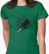 Becoming a Legend - Yoshi Women's Fitted T-Shirt