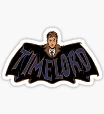 Timelord Doctor Who Sticker