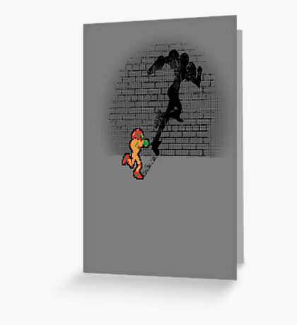 Becoming a Legend- Samus Aran Greeting Card