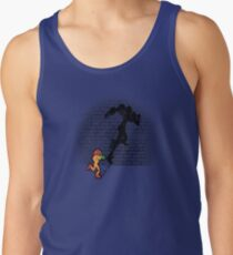 Becoming a Legend- Samus Aran Tank Top