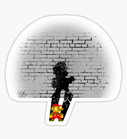 Becoming a Legend- Mario Sticker