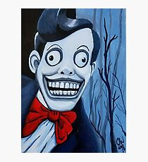 Mr. Chuckle Teeth, The X-Files, Horror Art, Scary, Creepy Photographic Print