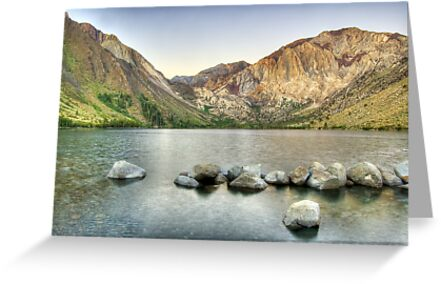 Waking Up at Convict Lake by Justin Mair