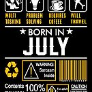 Birthday Gift Ideas - Born In JULY by wantneedlove