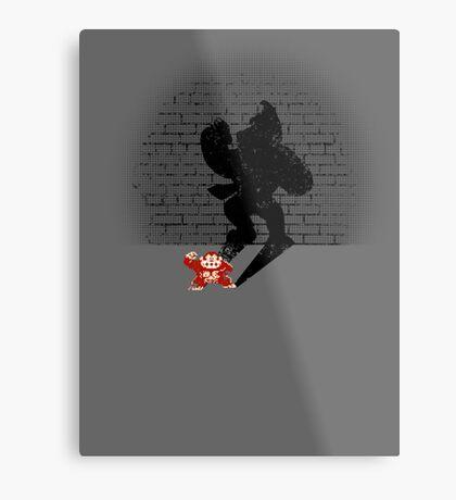 Becoming a Legend- Donkey Kong Metal Print