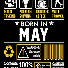 Birthday Gift Ideas - Born In MAY by wantneedlove