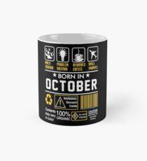 October Birthday Ideas Mugs