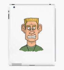 Angry Soldier Cartoon iPad Case/Skin