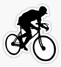 cyclisme cycle  cyclist Sticker