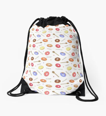 Donuts Homemade Drawstring Bag