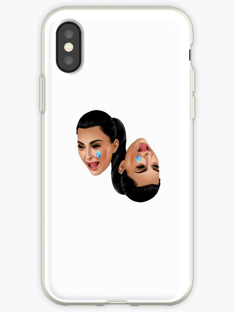 the latest 46343 9751d 'Kim Kardashian Crying' iPhone Case by xuniro