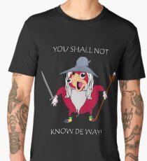 You Shall Not Know De Way Gandalf Men's Premium T-Shirt
