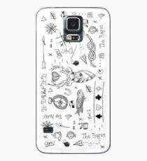 Louis Tomlinson Tattoos Case/Skin for Samsung Galaxy