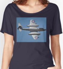Meteor Flypast, Point Cook Airshow, Australia 2014 Women's Relaxed Fit T-Shirt