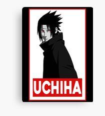 Uchiha Logo Canvas Print