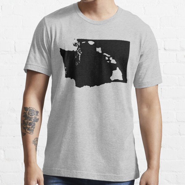 Washington and Hawai'i Roots by Hawaii Nei All Day Essential T-Shirt