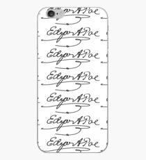 Edgar Allan Poe Signature iPhone Case