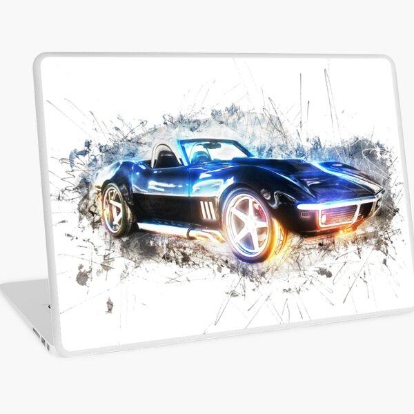 Classic Corvette Laptop Skin
