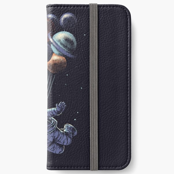 Space Travel iPhone Wallet