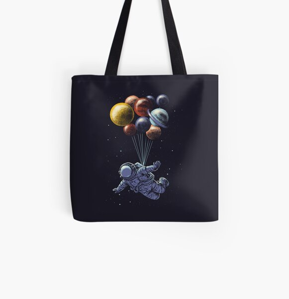 Space Travel All Over Print Tote Bag