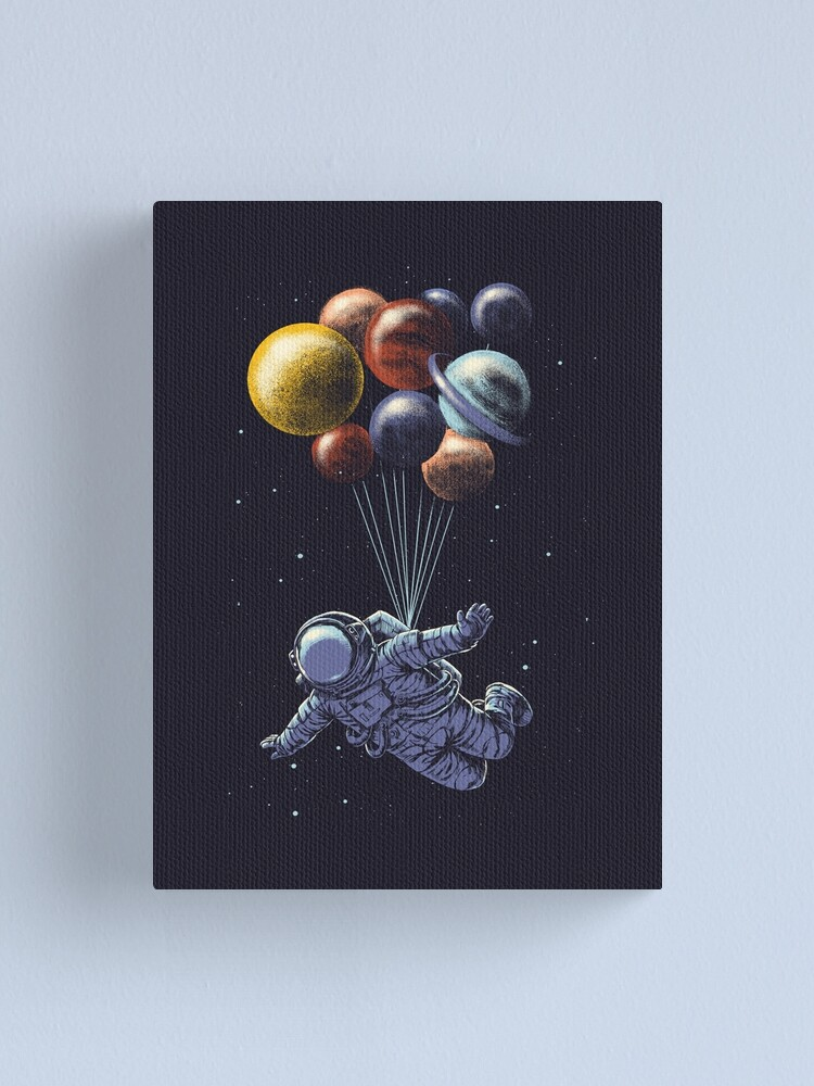 Alternate view of Space Travel Canvas Print