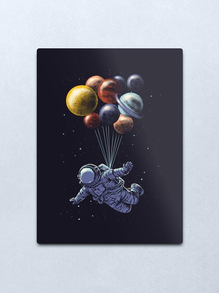 Alternate view of Space Travel Metal Print