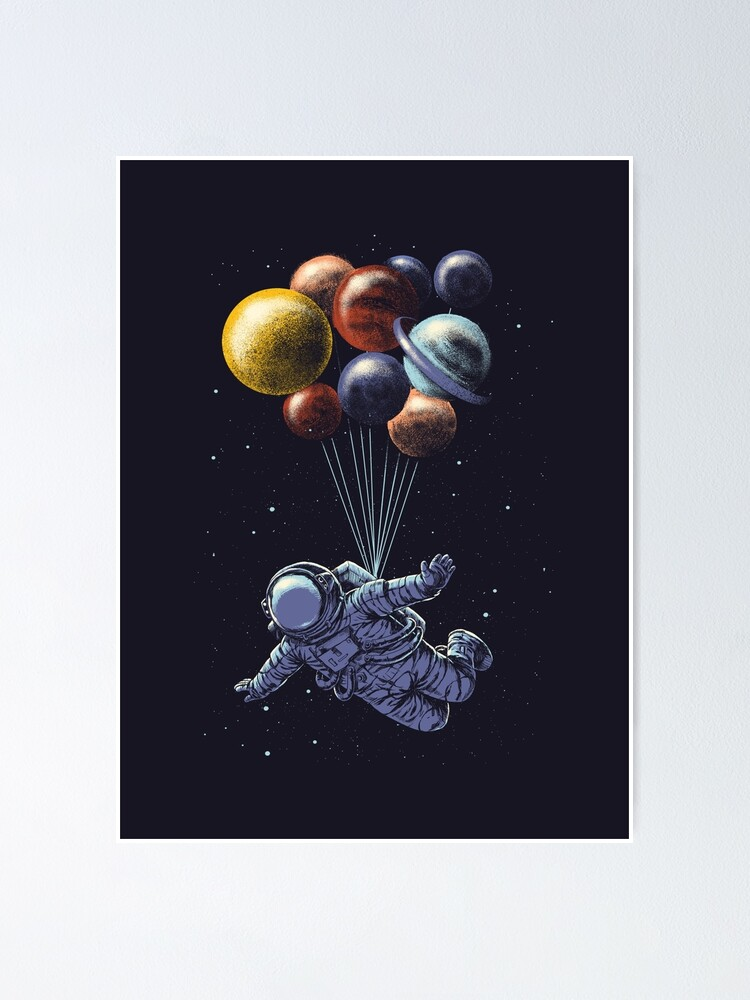 Alternate view of Space Travel Poster