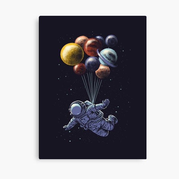 Raumfahrt Leinwanddruck