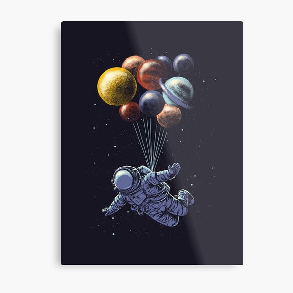 Viaje espacial Lámina metálica