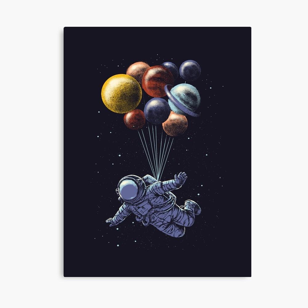 Viaje espacial Lienzo