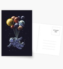 Space Travel Postcards